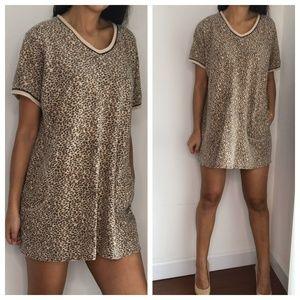 Vintage delicates essential t shirt dress XL